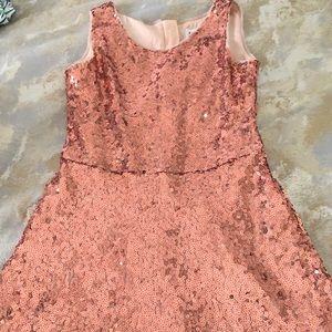 Gap Kids Pink Sequins Dress